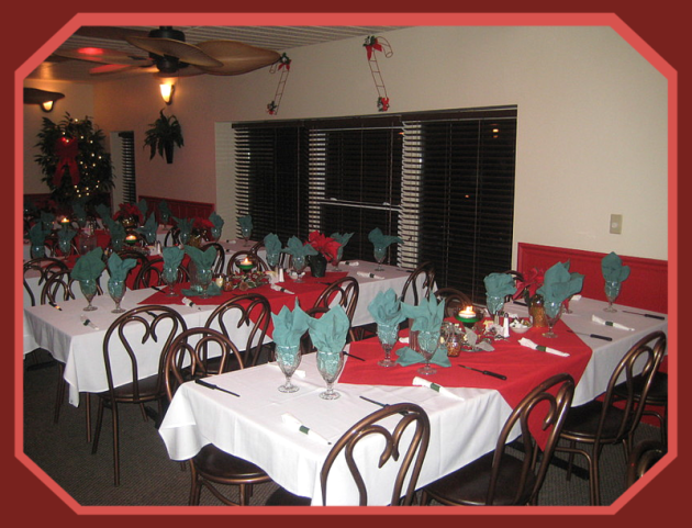 Oliva's Banquet Seating