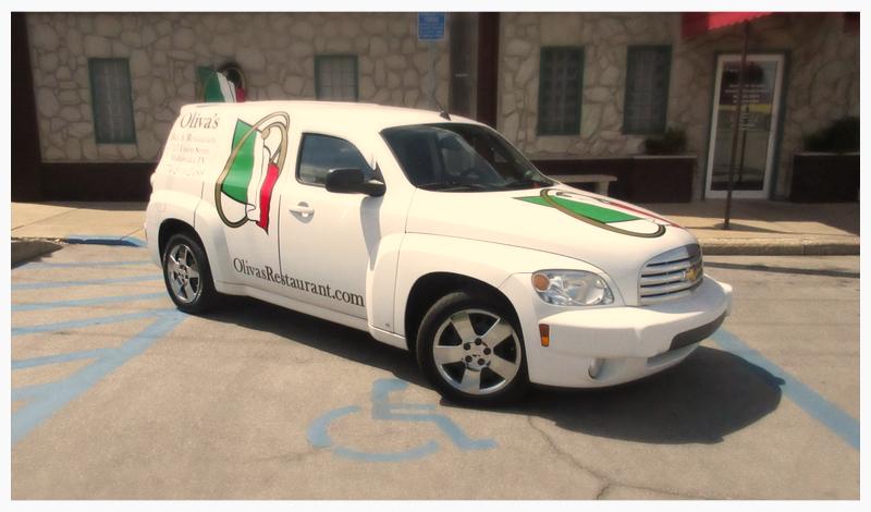 Oliva's Company Vehicle